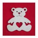 Lesena plošča Medved
