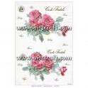Rižev papir Vintažne vrtnice