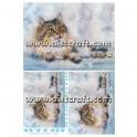 Rižev papir Sibirski Kraljevski Maček