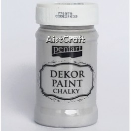 Akrilna kredna barva Siva 100 ml