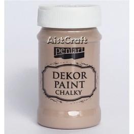 Akrilna kredna barva mlečna čokolada 100 ml
